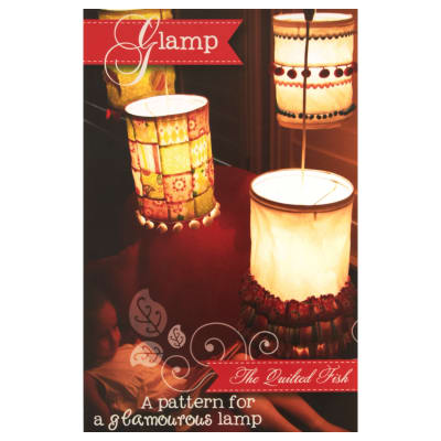 The Quilted Fish Glamp Pattern