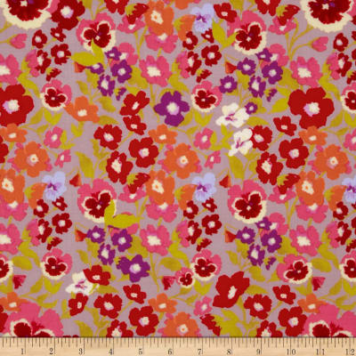 Secret Garden Hedgerow Linen Mauve