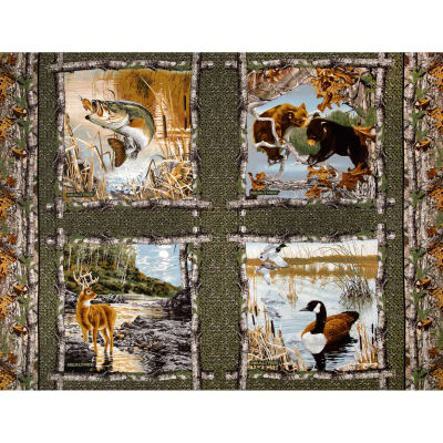 Realtree Pillow Panel