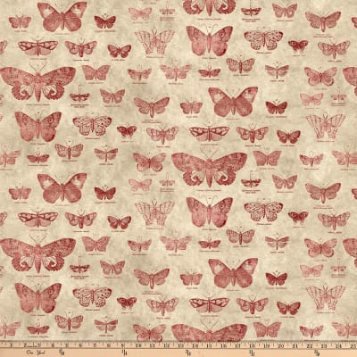 Tim Holtz Foundations Butterfly Red