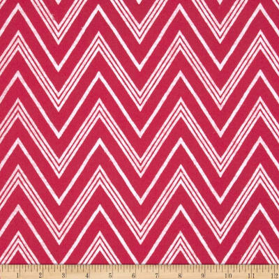 "Fanci Felt 36"" Chevron Shocking Pink"
