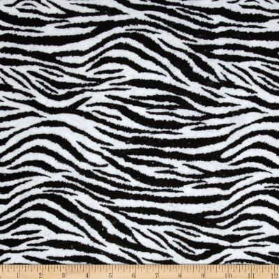 "Fanci Felt 36"" x  Zebra Black/White"