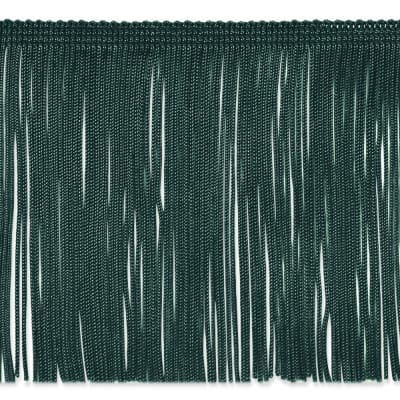 "6"" Chainette Fringe Trim Teal"