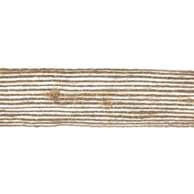 3/4'' Woven Burlap Webbing Ribbon Natural