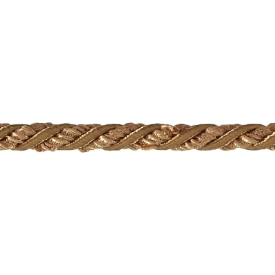 "Sylvia 1/4"" Twisted Cord Trim Gold"