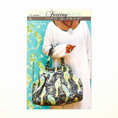 Tina Givens The Fortiny Handbag and Tote Bag Pattern