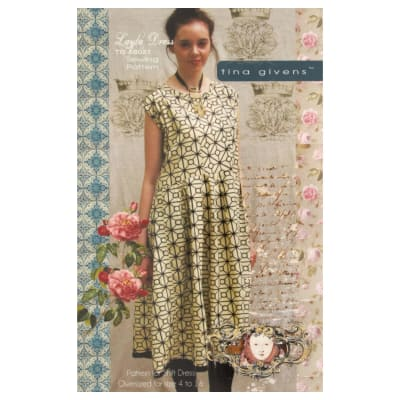 Tina Givens Layla Dress Pattern