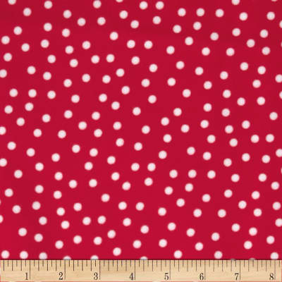 Remix Flannel Dots Hot Pink