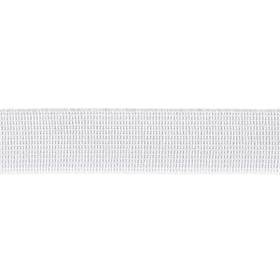 "Pajama Elastic 1"" Wide White"