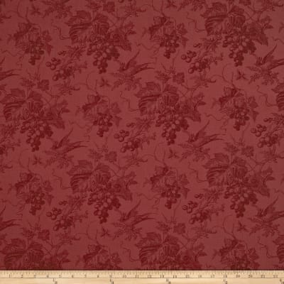 Moda Vin Du Jour Quilt Back Grape Toile Burgundy