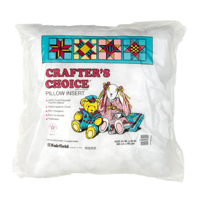 """Fairfield Crafter's Choice Pillow 24"""" Square"""
