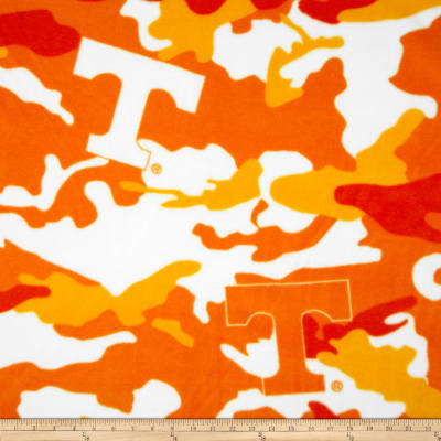 University of Tennessee Fleece Camo Orange