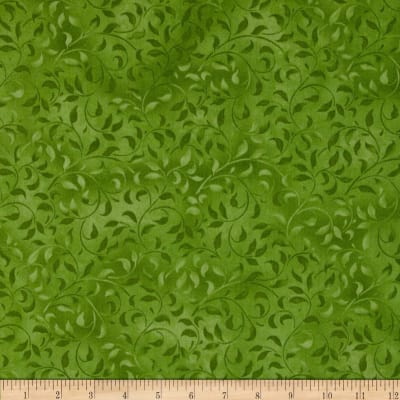 "Climbing Vine 108"" Wide Back Green"
