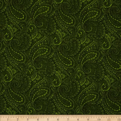 "Paisley 108"" Wide Back Light Green"