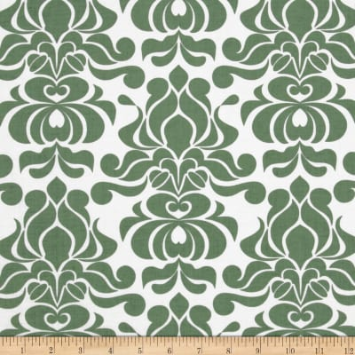 Riley Blake Valencia Damask Green