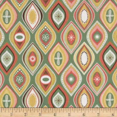 Riley Blake Valencia Geometric Green