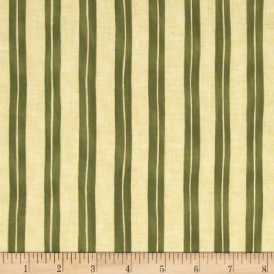 Home is in the Kitchen Stripe Green