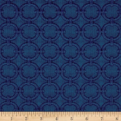 Waverly Full Circle Blue Marine Matelasse
