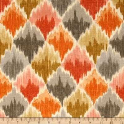 Waverly Baroque Bargello Slub Clay