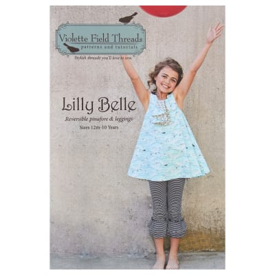 Violette Field Threads Lilly Belle Pinafore & Leggings Pattern