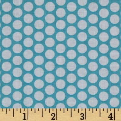 Riley Blake Honeycomb Dot Aqua