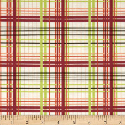 Valori Wells Bridgette Lane Plaid Cherry