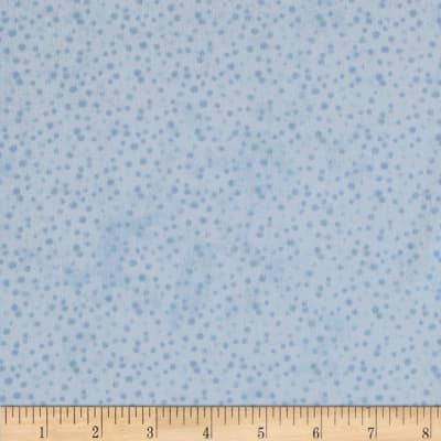 Essentials Flannel Petite Dots Light Blue