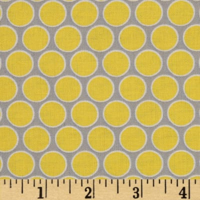 Sweet Harmony Dot Grey/Yellow