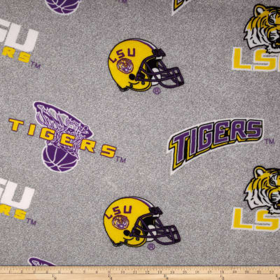 Louisiana State University Sweatshirt Fleece Grey