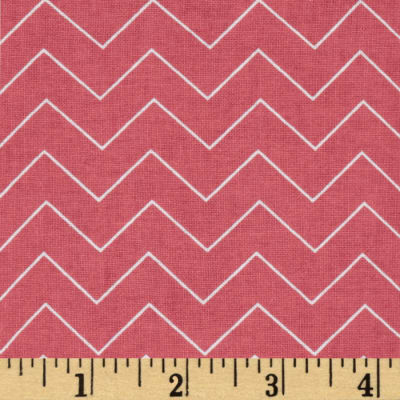 DIY Chevron Coral