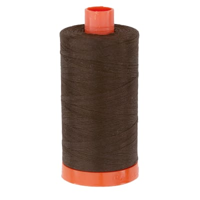 Aurifil Quilting Thread 50wt Very Dark Bark