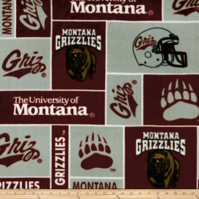 Collegiate Fleece University of Montana Maroon
