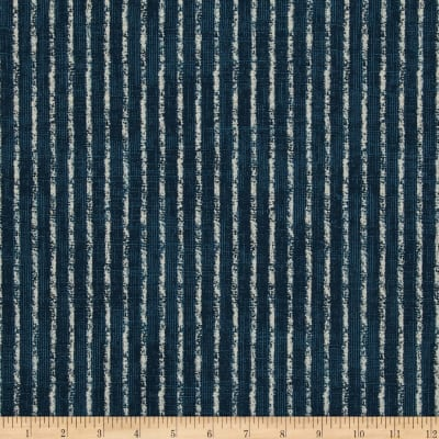 Magnolia Home Skyfall Stripe Navy