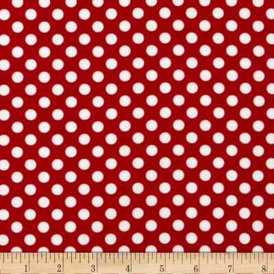 Spot On Medium Dot Red