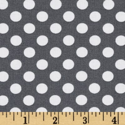 Spot On Medium Dot Grey