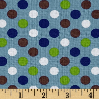 Spot On Medium Dot Denim