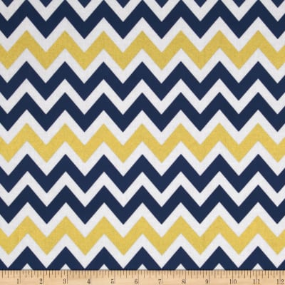 Remix Metallic Large Chevron Indigo