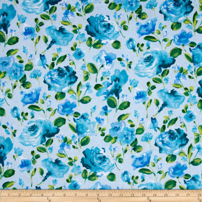 Ambrosia Toss Floral Blue