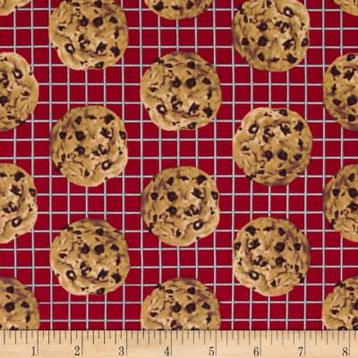 In the Mix Chocolate Chip Cookies Red