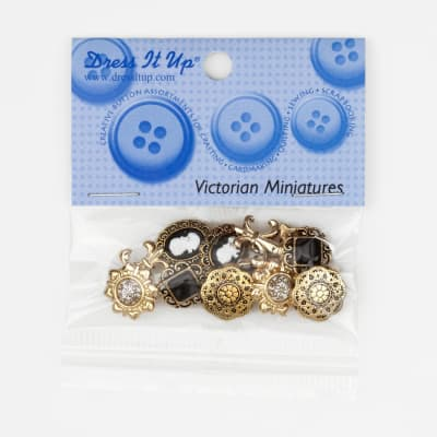 Dress It Up Embellishment Buttons Victorian Mini