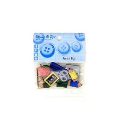 Dress It Up Embellishment Buttons  Pencil Box