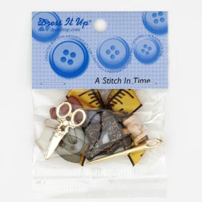 Dress It Up Embellishment Buttons Stitch In Time