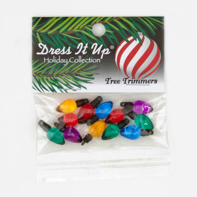 Dress It Up Embellishment Buttons  Tree Trimmers