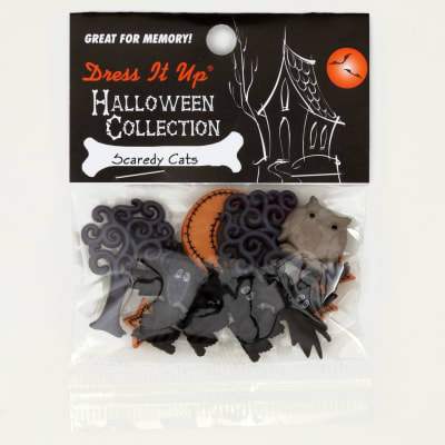 Dress It Up Embellishment Buttons  Scaredy Cats