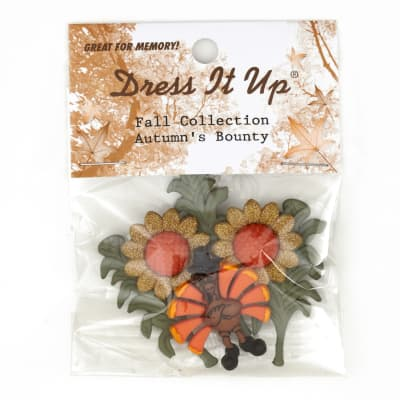 Dress It Up Embellishment Buttons  Autumn Bounty
