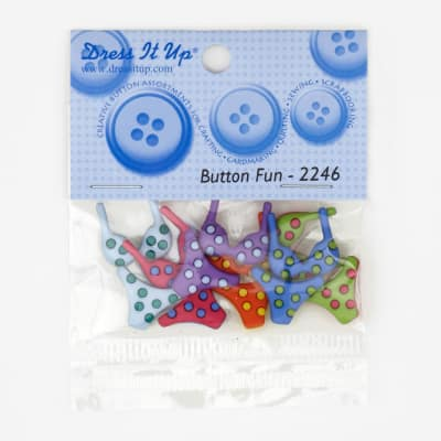Dress It Up Embellishment Buttons  Bikinis