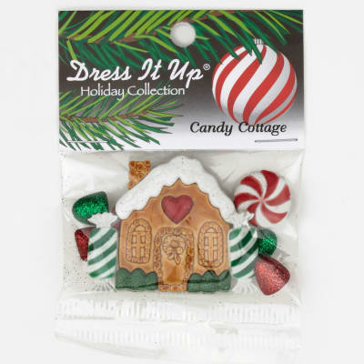 Dress It Up Embellishment Buttons  Candy Cottage