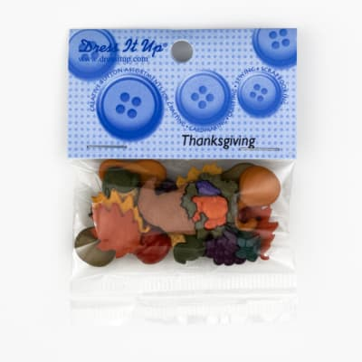 Dress It Up Embellishment Buttons  Mm Thanksgiving