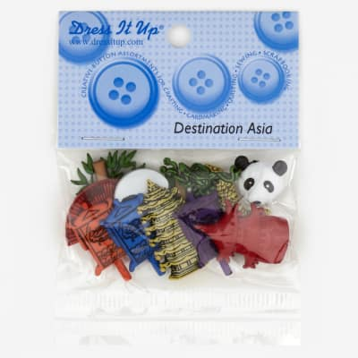 Dress It Up Embellishment Buttons  Asia