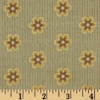 Riley Blake A French Courtyard French Floral Tan